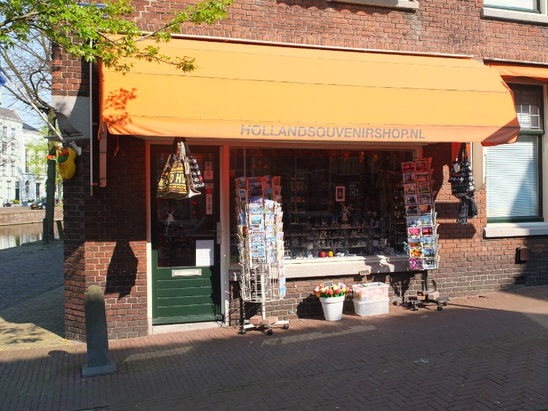 Solid proof that Schiedam is touristic.