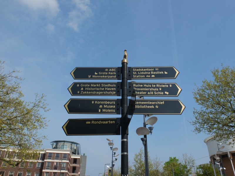 As you can see, there are a lot of places of historic and cultural interest in Schiedam.