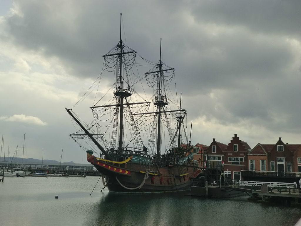 Model of Liefde, a key ship in original Dutch-Japanese relations