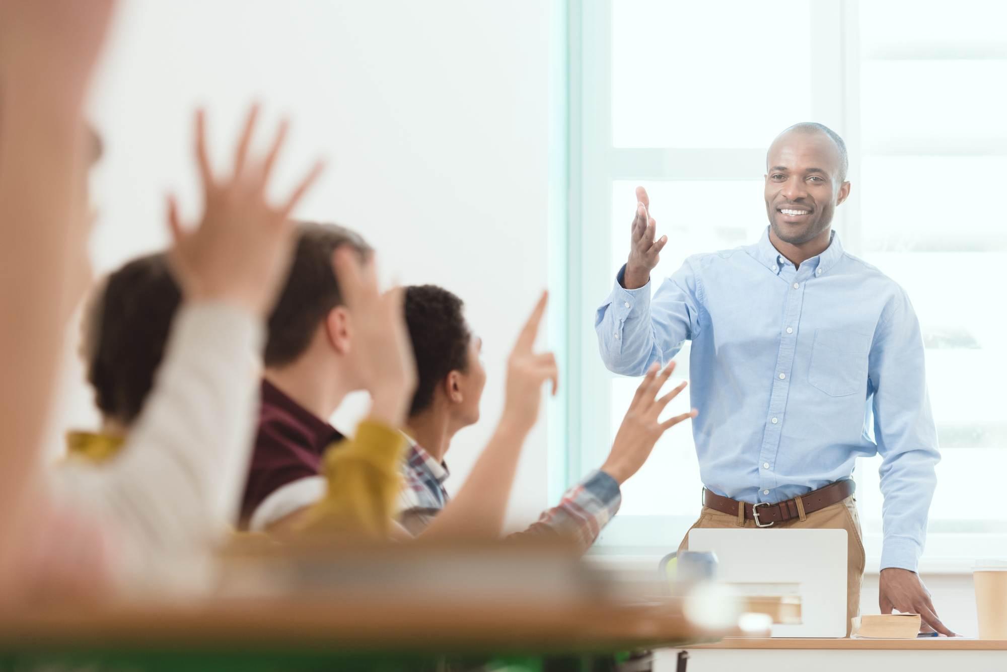 Dutch-teacher-answering-questions-at-an-international-school