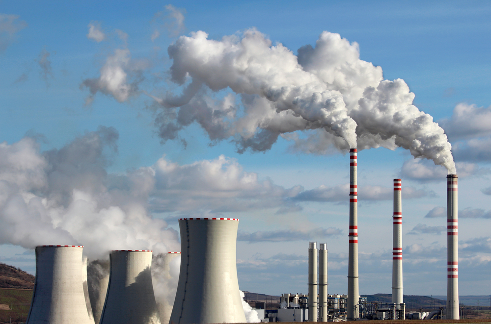 Dutch-factory-releasing-carbon-emissions-affecting-climate-change