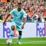 PORTO, PORTUGLAL – June 09, 2019: Denzel Dumfries player during