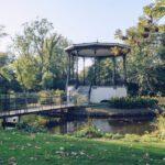 pavilion at Vondelpark in Amsterdam