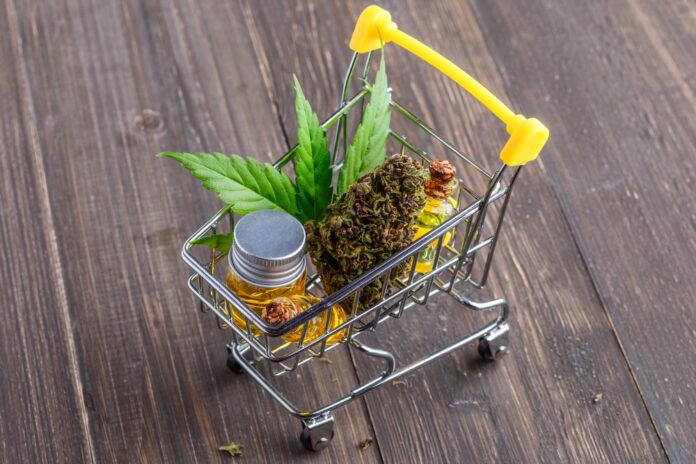 trolley-weed-cannabis-oil-supermarket