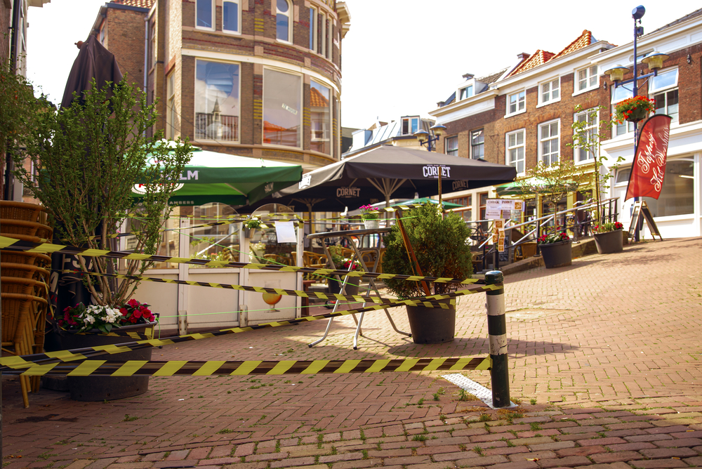 Dutch-restaurant-terrace-closed-due-to-coroanvirus-infections-among-staff