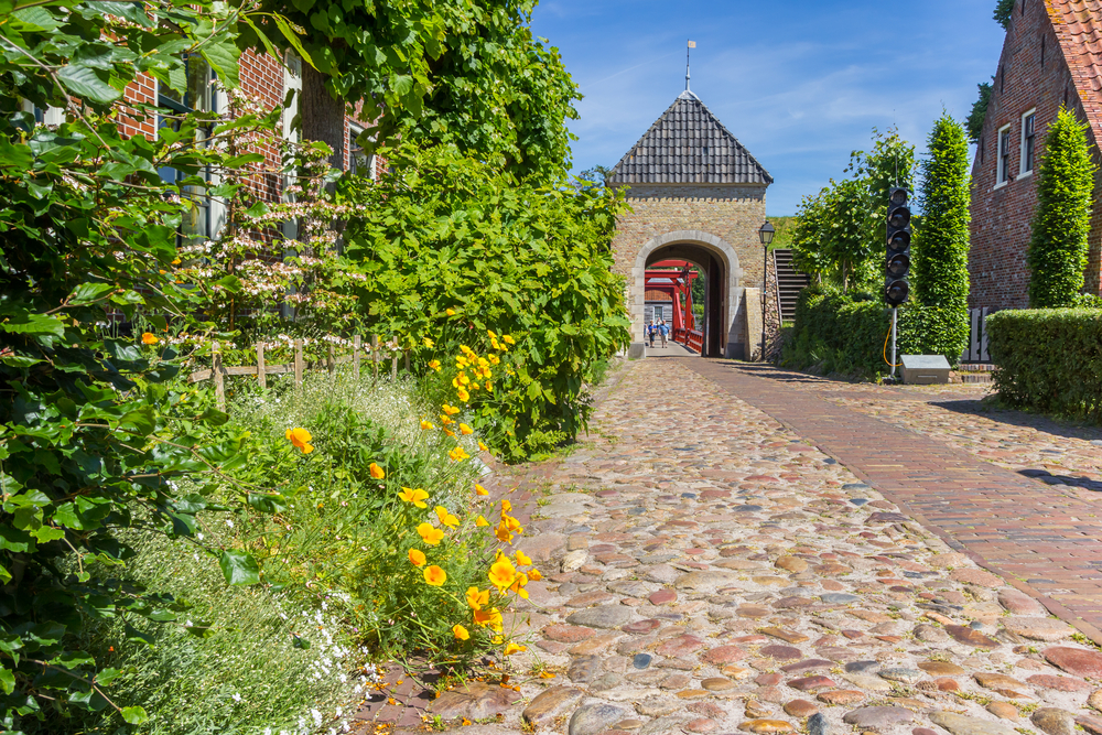 The-gated-entrance-to-Vesting-Bourtange