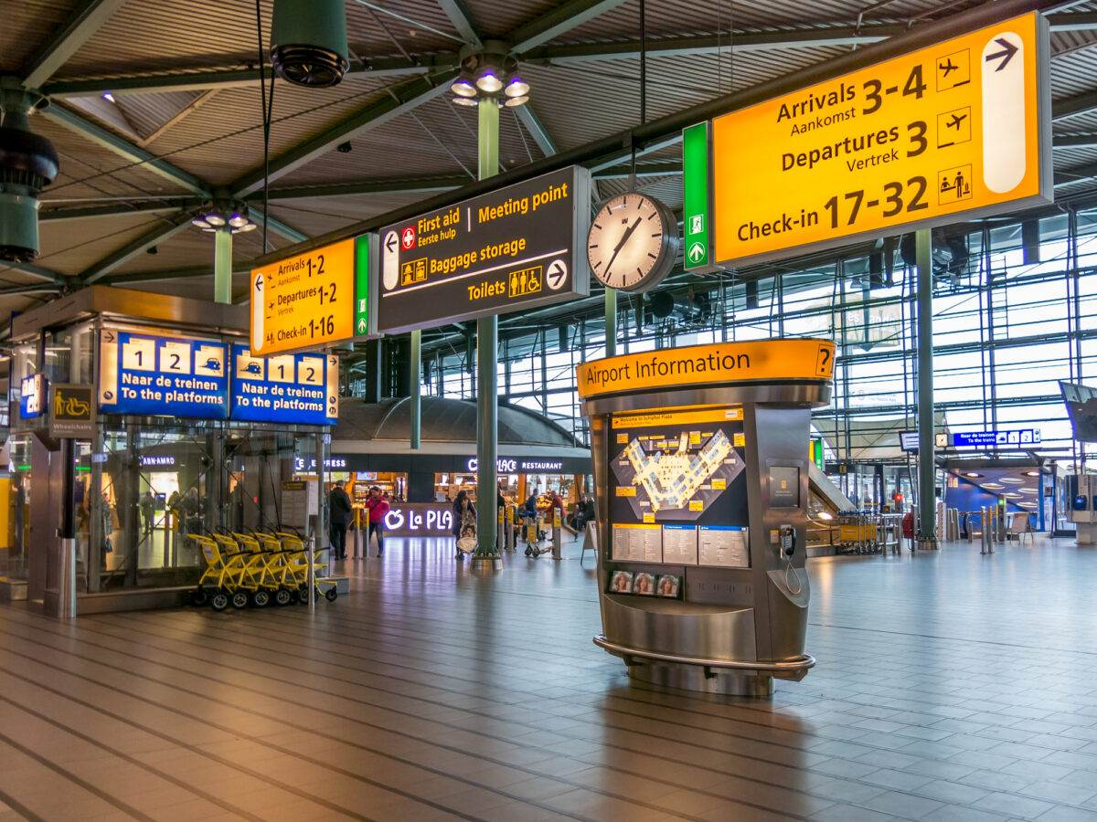 photo-of-a-hall-at-schiphol-airport