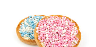 Pink-and-blue-muisjes-for-birth-of-baby