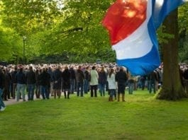National Remembrance day in the Netherlands