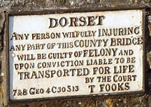 Dorset_Sturminster_Newton_Bridge_notice