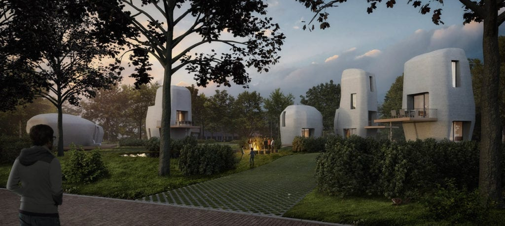3d printing of houses in Eindhoven