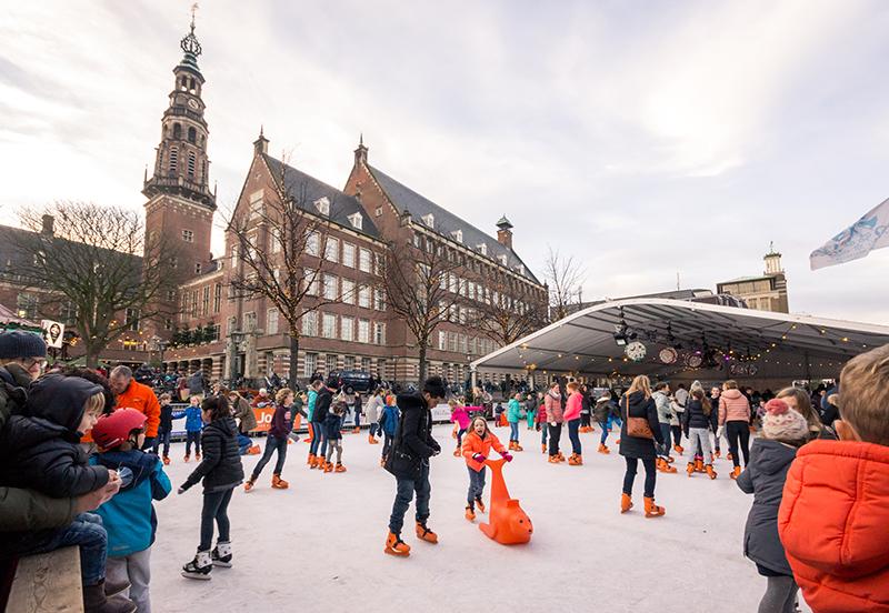 Ice skating Leiden