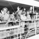 Dutch_Migrant_1954_MariaScholte=50000thToAustraliaPostWW2