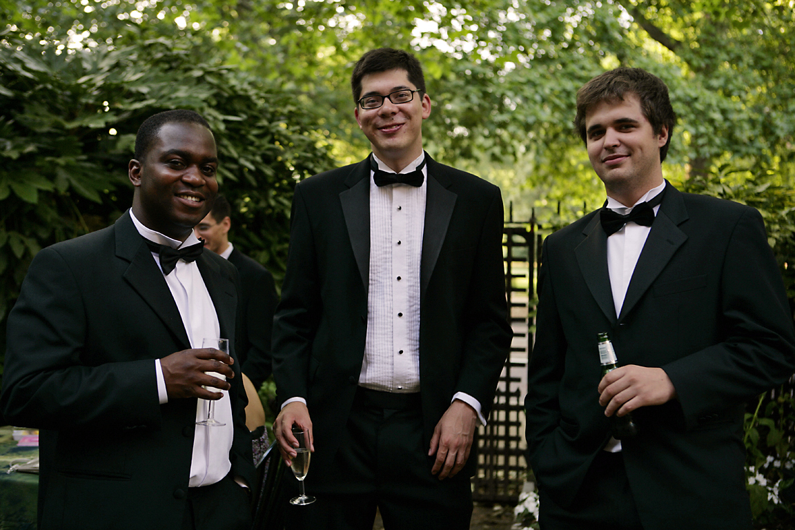 Dutch-men-wearing-suits-at-a-student-society-party