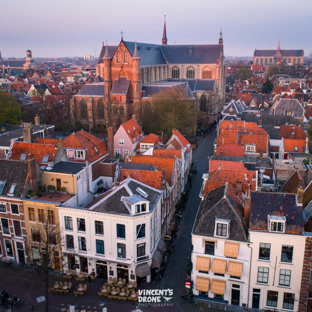 drone pictures of Leiden