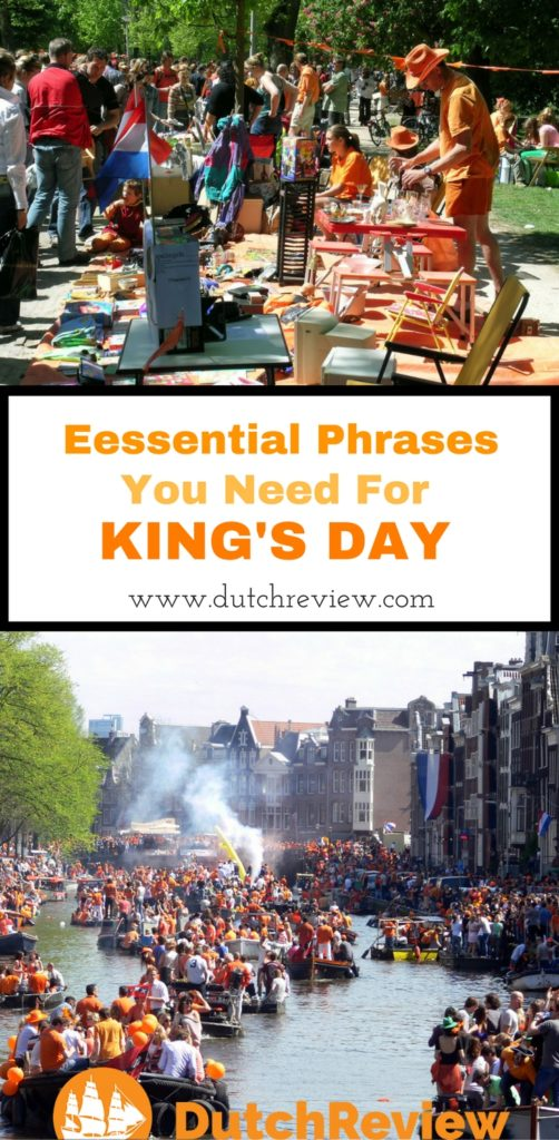These are the Dutch words you need to know for King's Day!