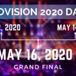 Eurovision 2020 dates