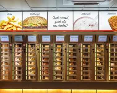 FEBO burger stand