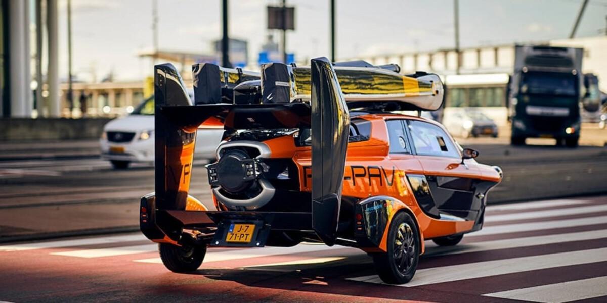 A-model-of-a-Dutch-made-flying-car