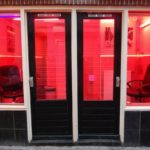 Forced prostitution in the Netherlands red light district