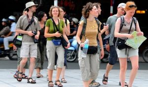 Amsterdam tourist - German