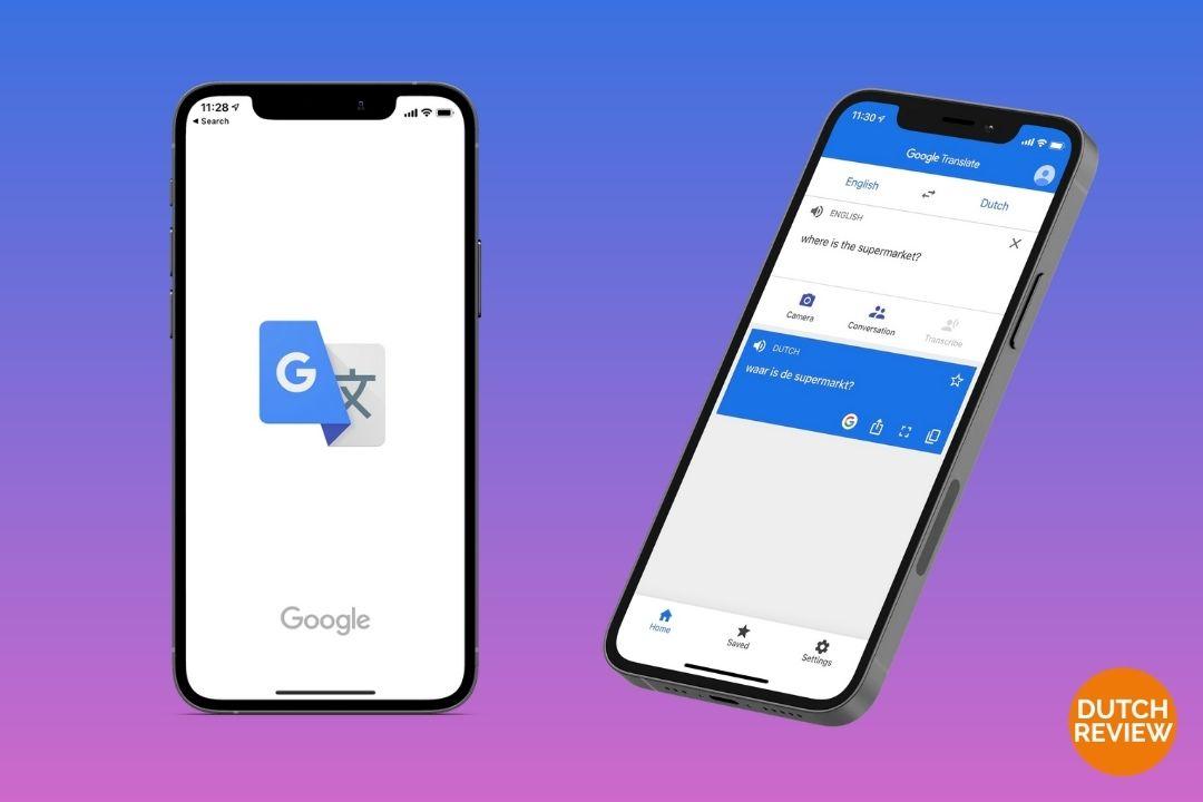 Google-translate-app-on-a-Dutch-phone
