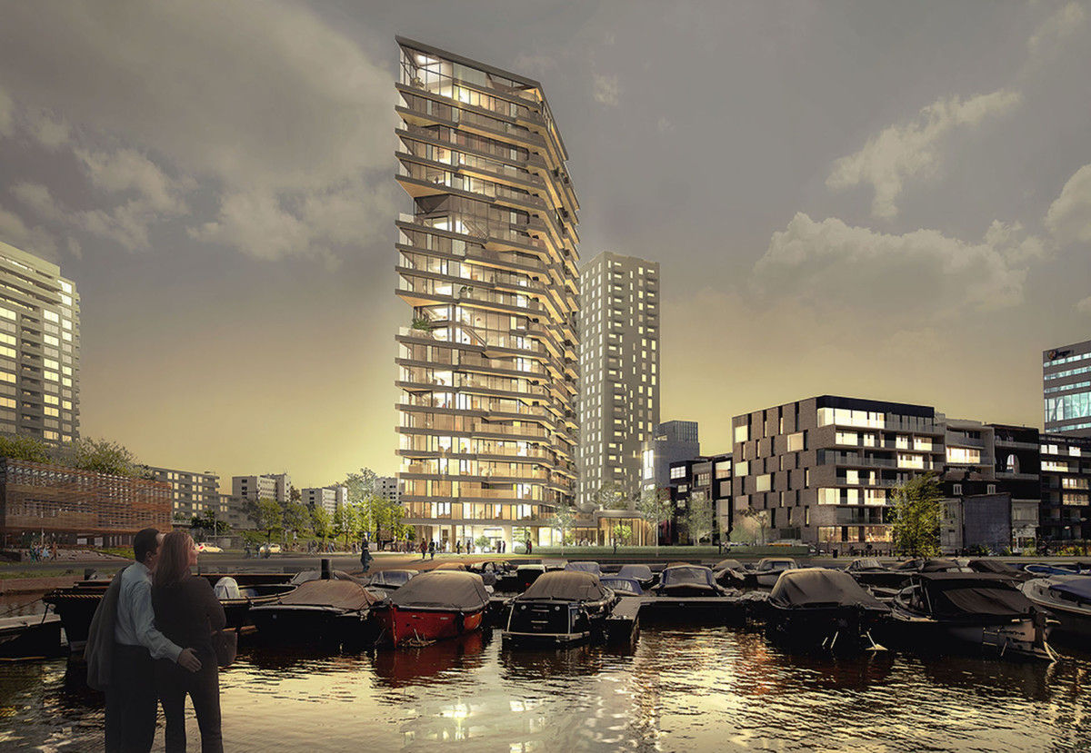sustainability, architecture, buildings, Amsterdam, apartments, Amazing, Future