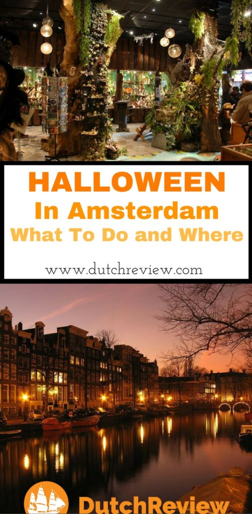 Where to go and what to do in Amsterdam for Halloween!