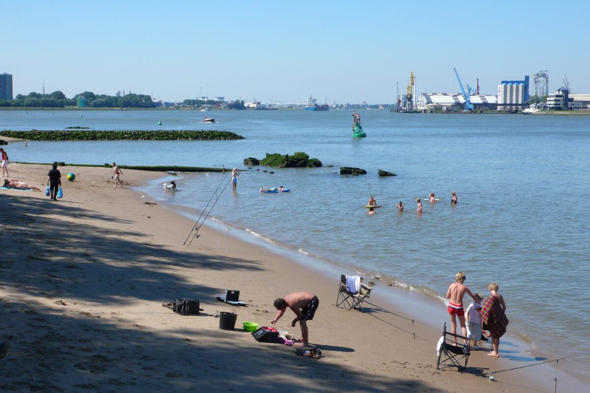 beaches in Rotterdam