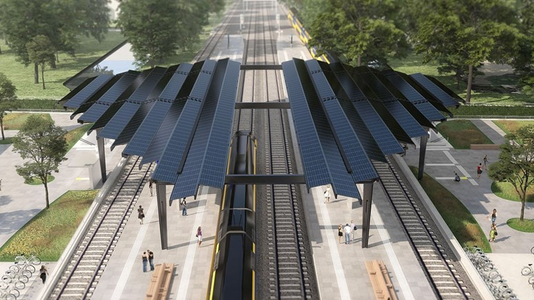 dutchreview.com - Jesse Rintoul - Delft will have the Netherlands first Fully Solar Powered Train Station