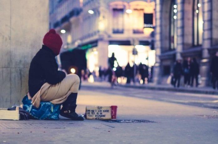 Homeless in the Netherlands
