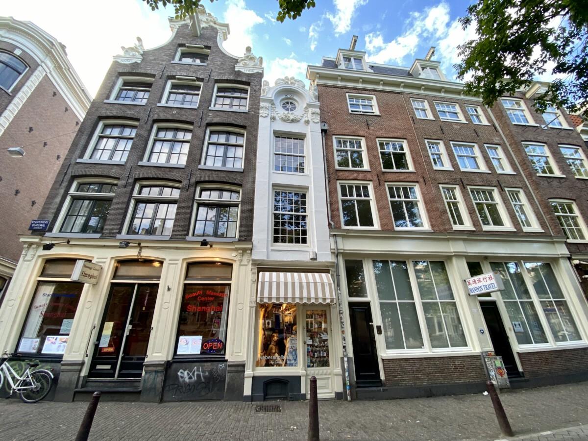 photo of narrow house amsterdam