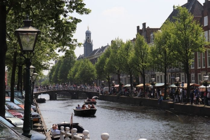 living in the Netherlands for the first time