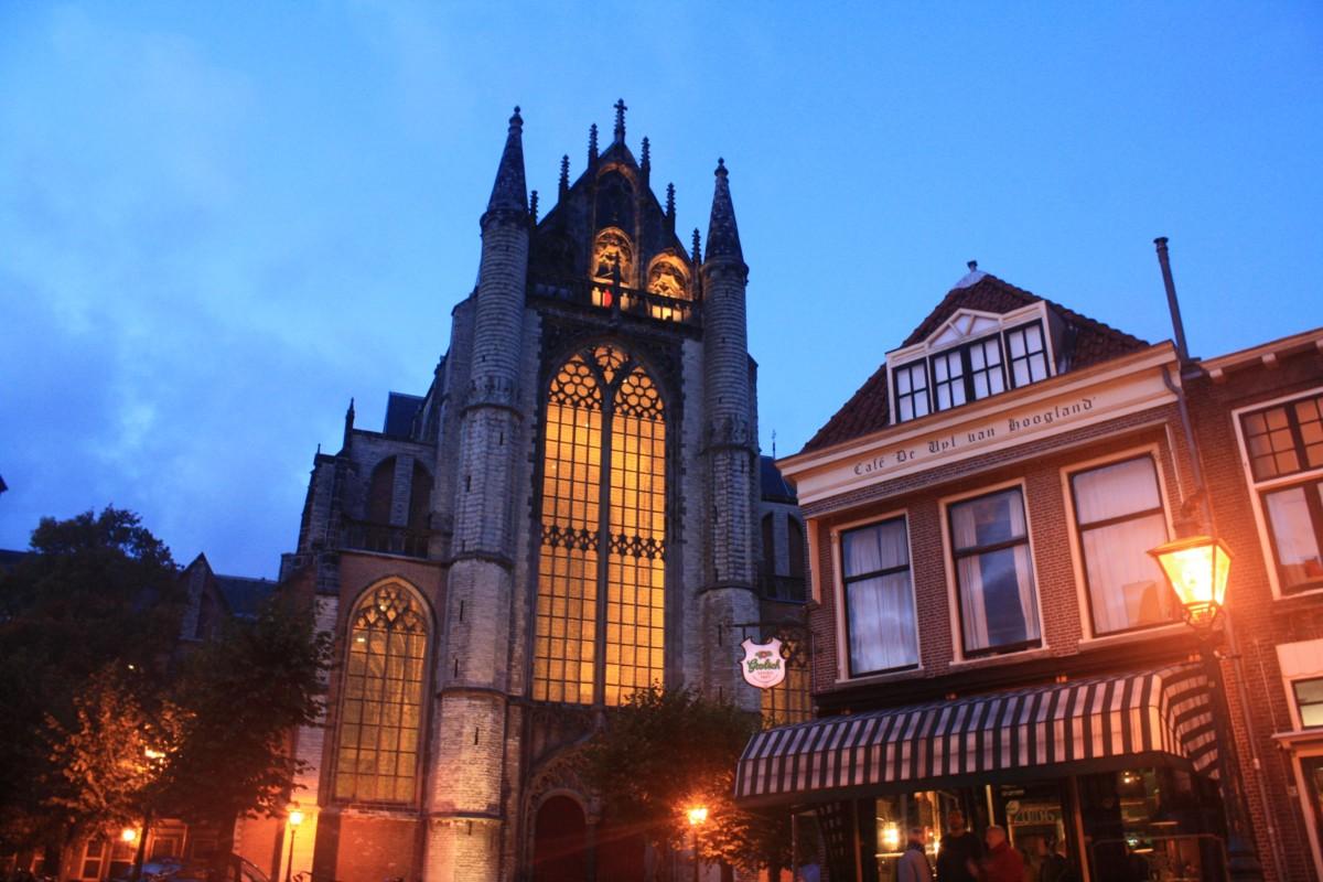 Leiden church