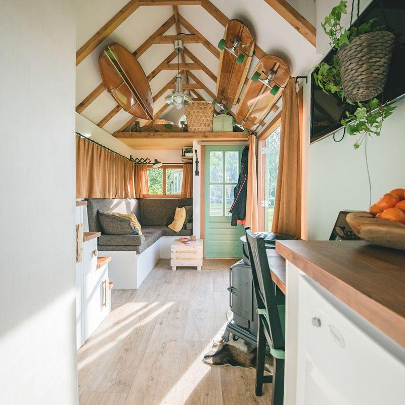 Inside a Dutch tiny home