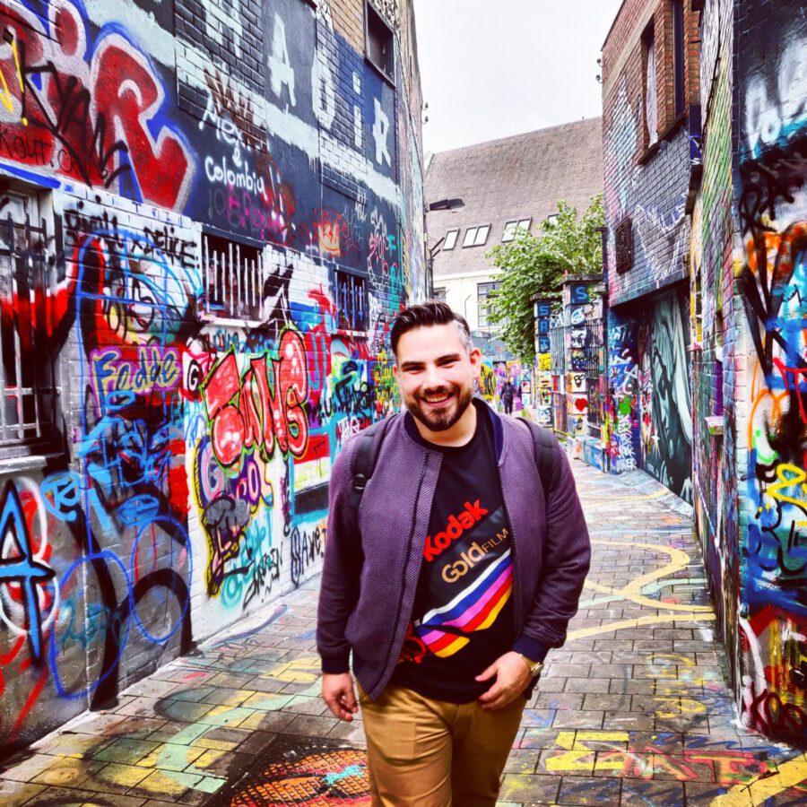 graffiti alley in Gent