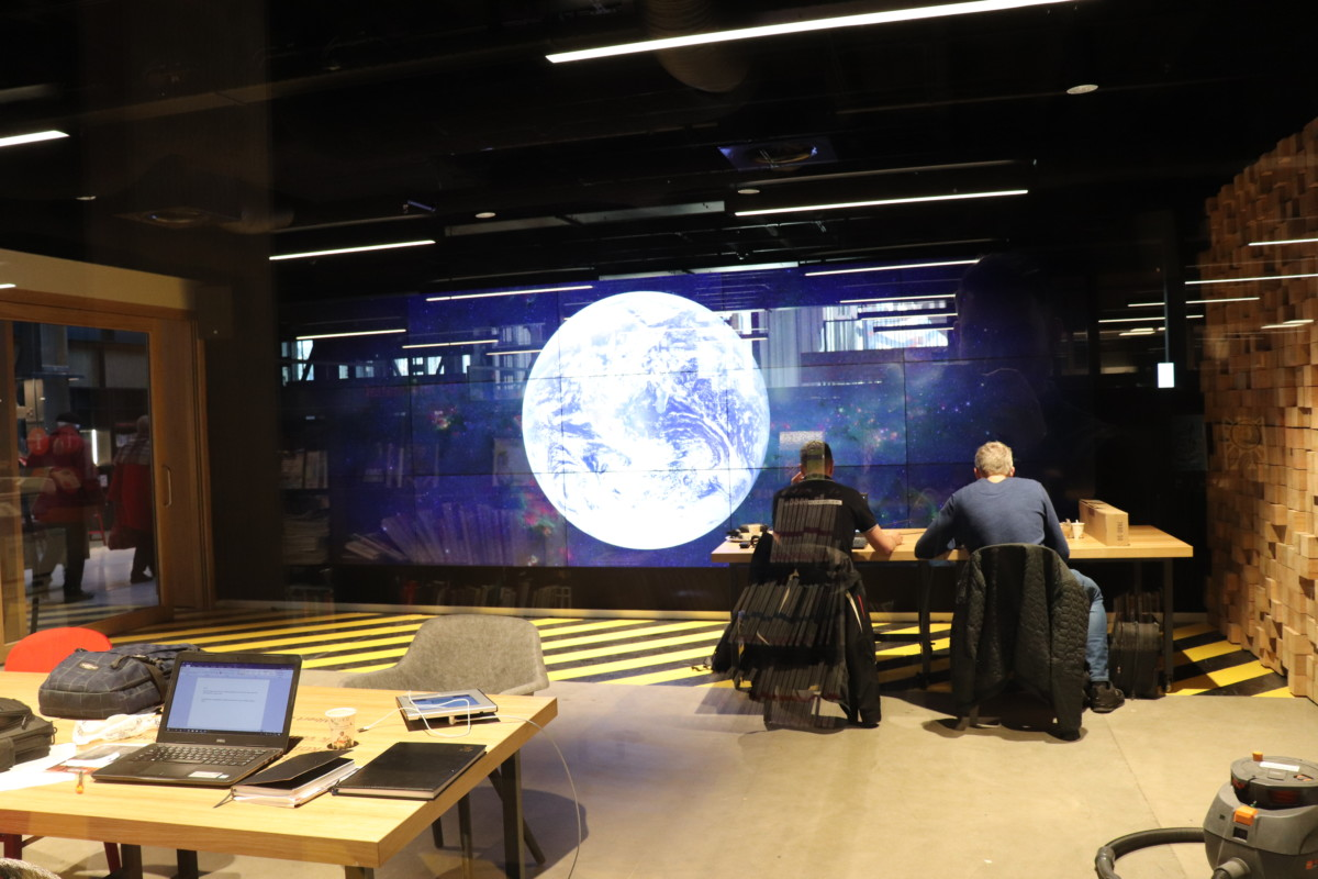 Globe Room, LocHal, Tilburg, Innovation