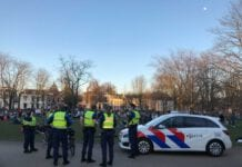 Photo-of-Dutch-police-at-park-in-Utrecht