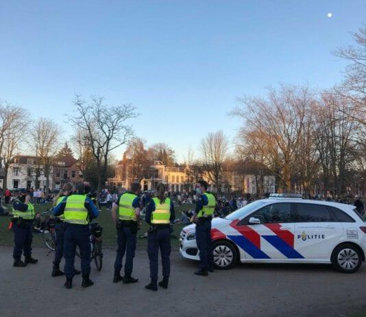 Photo-of-Dutch-police-at-park-in-Utrecht