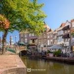 Zomer op de Nieuwe Rijn in Leiden