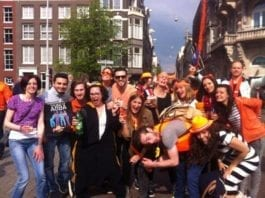 King's day - living in Amsterdam