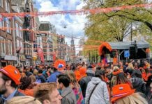 Dutch-crowd-at-a-King's-Day-festival