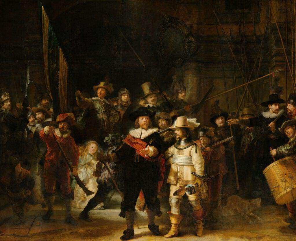 Rembrant's-paining-The-Night-Watch