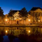 Lakenhal Leiden night