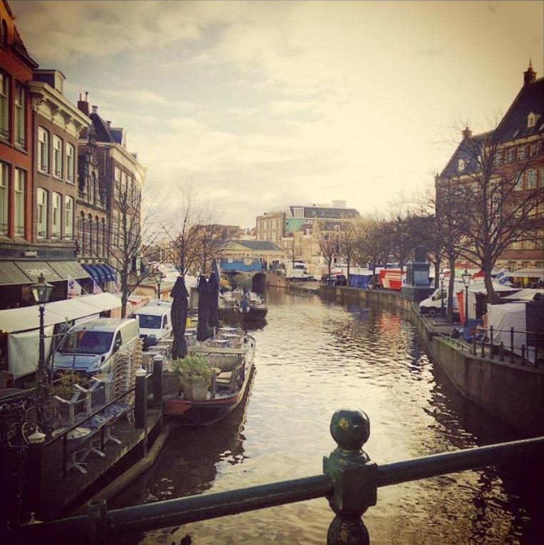 Leiden street market
