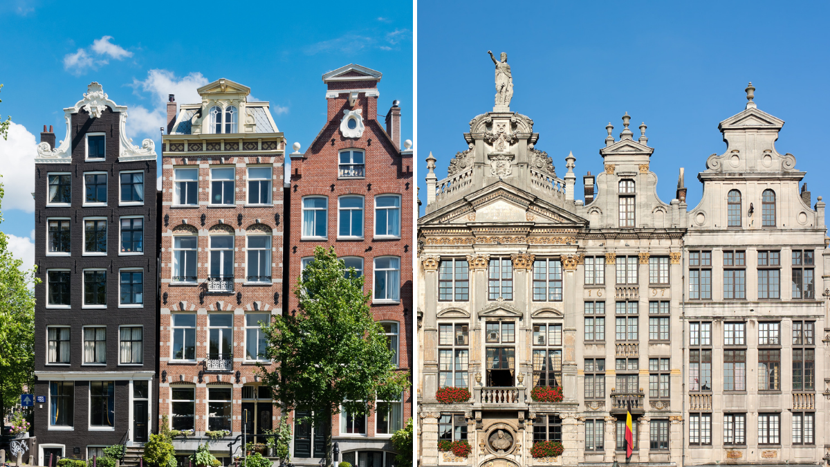 photo-houses-in-amsterdam-next-to-royal-palace-in-belgium