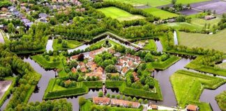 aerial-photo-of-Bourtange