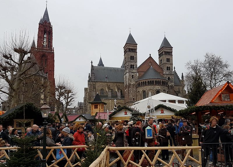 Christmas market in Maastricht