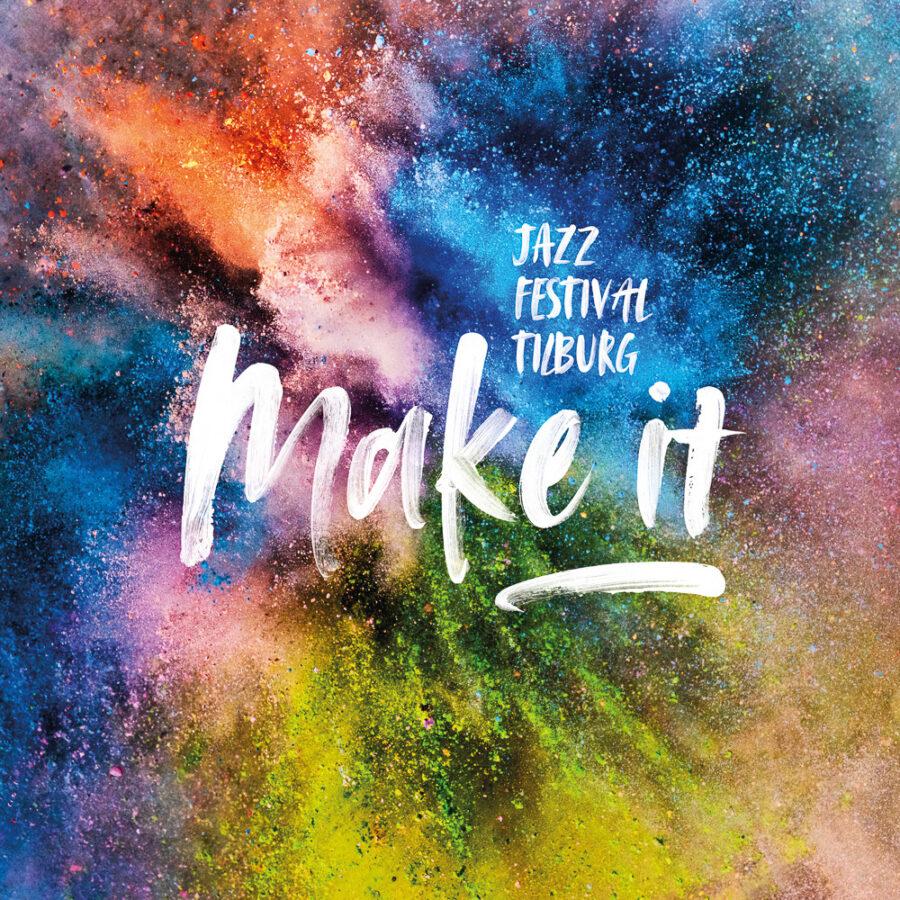 Colourful-poster-for-Make-It-Jazz-Festival-Tilburg