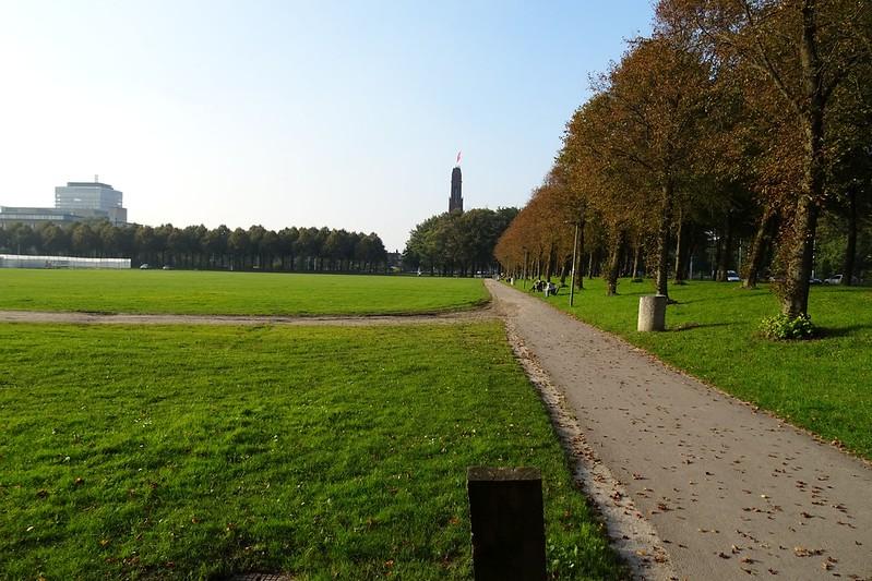 Malieveld-park-a-walking-spot-in-The-Hague